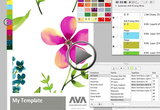 Crea composiciones estándar en Quick Colourways