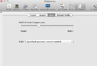 Optimising AVA File Compression