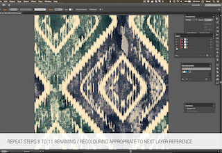 Setting up an Adobe Illustrator Design File to Include AVA Separated Layers