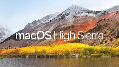 News from WWDC17- 'High Sierra', how will this benefit AVA users?